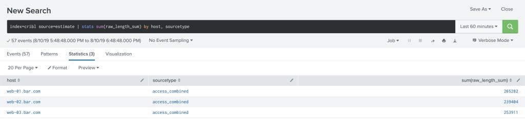 Cribl | Estimating Capacity using LogStream